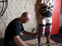 french shibari hogtied rope whith no sex act
