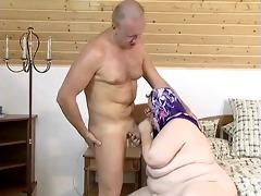 insatiable granny acquires herself off