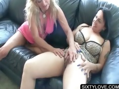 older babe licking chubby fur pie