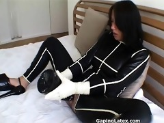 naughty aged bitch goes crazy sex toy part8