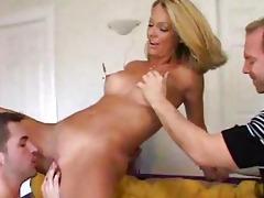 hawt wife getting fed juvenile pecker