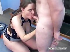 older slut natasha is getting screwed by a geek