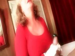 big titted moms filthy talking jerk off