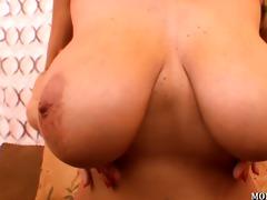 breasty mother i alia janine tit copulates a load