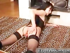 perverted mama sextoy machine screwed part11