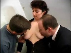lascivious french aged double permeated by boyz