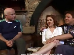 redhead swingers copulates for hubbys approval