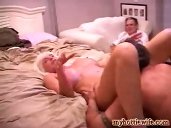 tracy licks shares neighbors cock with girlfriend