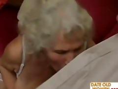 lustful grandma felt up and screwed hard