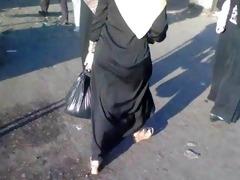 arab street voyeur - large wazoo candid - spying