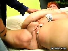 large stomach mature chick
