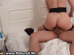 sexy brunette housewife is riding part10