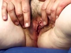 pair masturbation with granny 75 (+ slow motion)