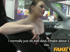 faketaxi posh woman pays worthy specie for a fuck