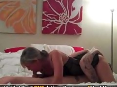 hot wife with wonderful arse rides on top