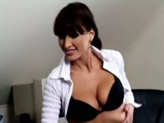 sexy teacher drilled by student