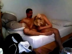 blonde wife homemade quickie
