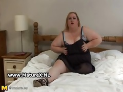 old bbw blond t live without to show of her