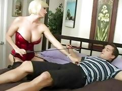 ravishing breasty blond mother i engulfing huge