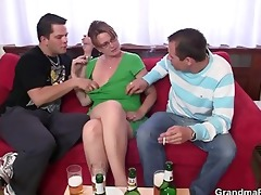 cocksucking old slut takes it is in the a-hole