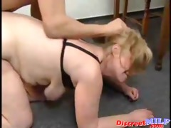 slender russian fucking aged police woman