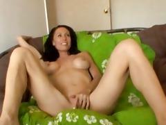 breasty mother i wench masturbates
