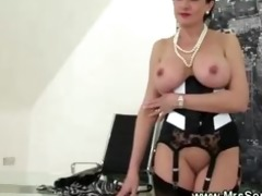 cuckold watches wife eat dick