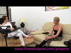femaleagent. lets wank jointly