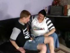 obese granny german