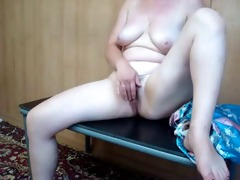 older hot mother i selfshot masturbation