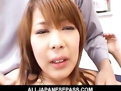 sakurado oriental chick enjoys a hard fucking