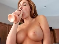 sexy d like to fuck slaps her lewd fur pie