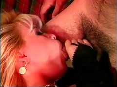 hawt doxy getting face coverd with cum after bj