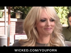 cheating big tit pornstar stormy daniels bonks