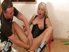 sexy golden-haired mother i violently fisted in