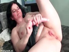 insane breasty dark brown woman drills her part4
